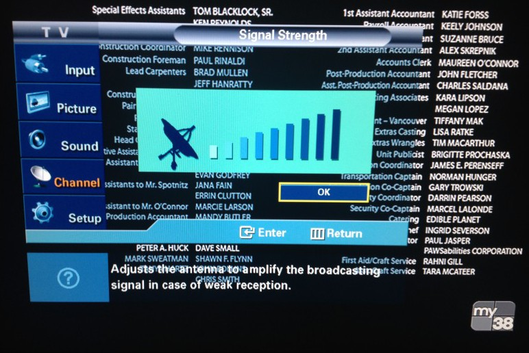 how to receive digital tv over the air
