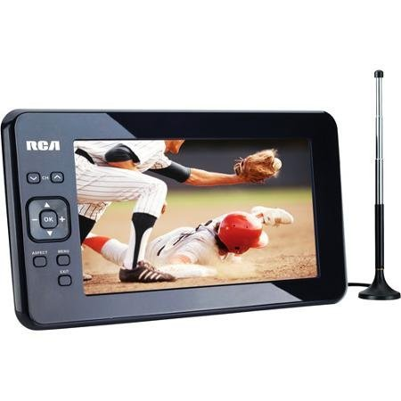 watch tv anywhere using a portable tv with a built in. Black Bedroom Furniture Sets. Home Design Ideas
