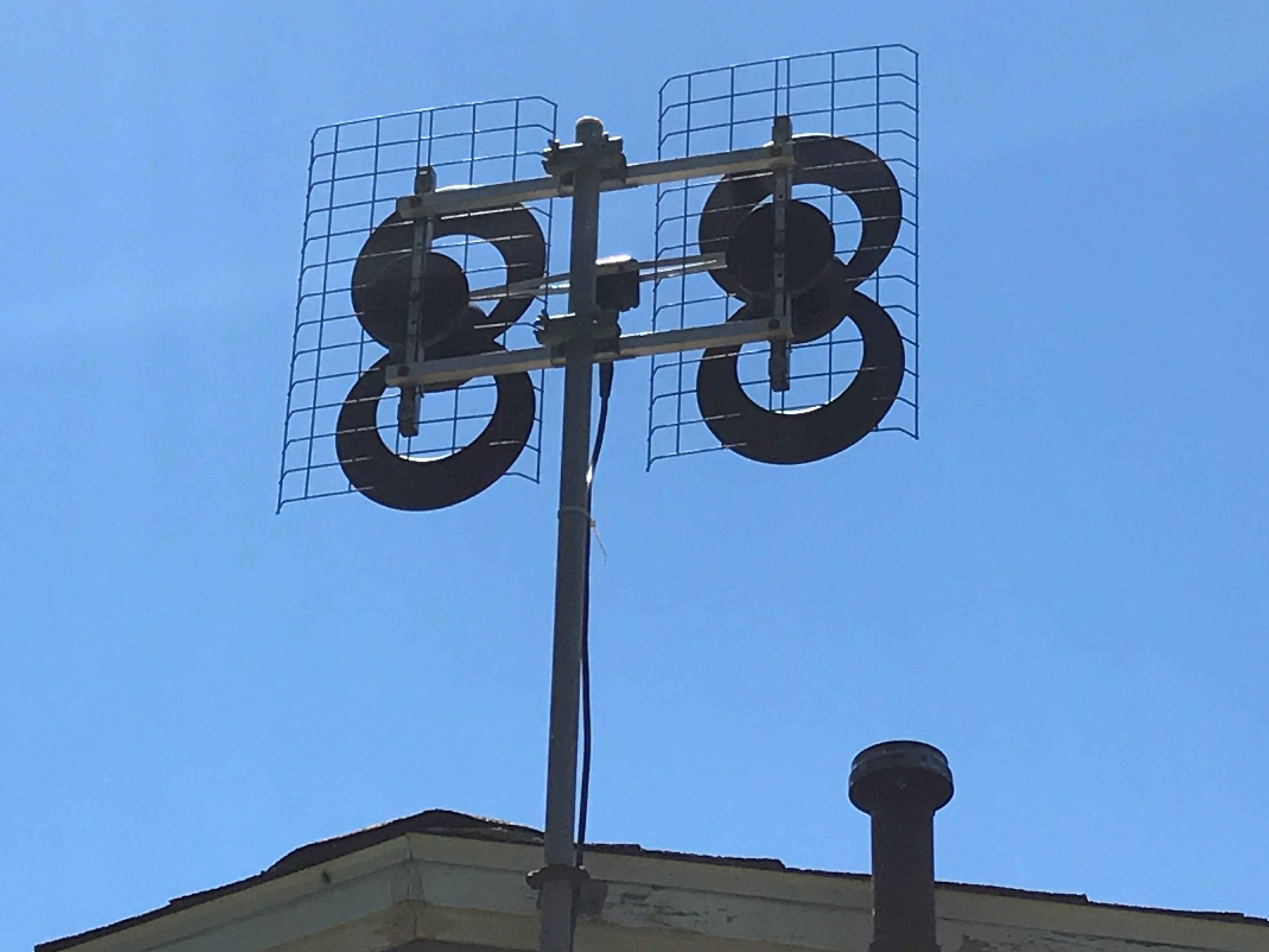 Chimney Antenna Mast ~ Different ways to mount an hd antenna for the home over